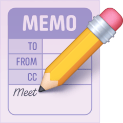 Memo Emoji on Facebook