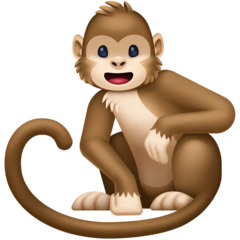 Monkey Emoji on Facebook