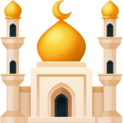 Mosque Emoji on Facebook