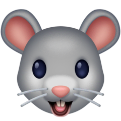 Mouse Face Emoji on Facebook