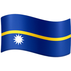 Flag: Nauru Emoji on Facebook