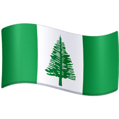 Flag: Norfolk Island Emoji on Facebook