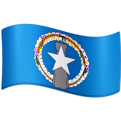 Flag: Northern Mariana Islands Emoji on Facebook