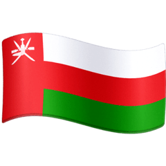 Flag: Oman Emoji on Facebook