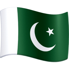 Flag: Pakistan Emoji on Facebook