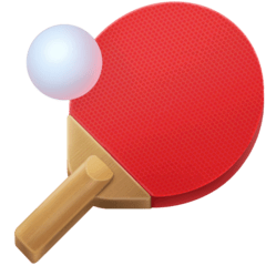 Ping Pong Emoji on Facebook