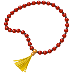 Prayer Beads Emoji on Facebook