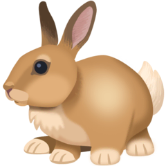 Rabbit Emoji on Facebook