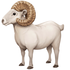 Ram Emoji on Facebook