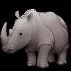Rinoceronte Emoji Facebook