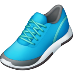 Running Shoe Emoji on Facebook