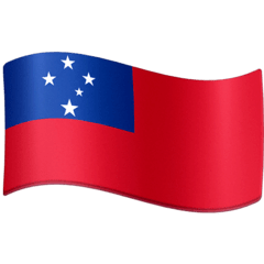 Flag: Samoa Emoji on Facebook