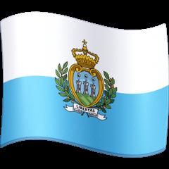 Флаг Сан-Марино Эмодзи на Facebook