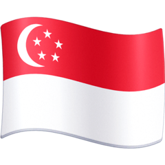 Flag: Singapore Emoji on Facebook