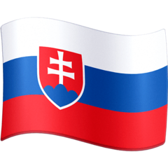 Flag: Slovakia Emoji on Facebook
