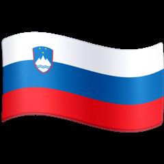Флаг Словении Эмодзи на Facebook
