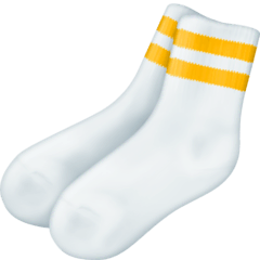 Socks Emoji on Facebook