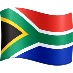 Flag: South Africa Emoji on Facebook