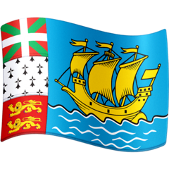 Flag: St. Pierre & Miquelon Emoji on Facebook