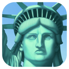 Statue of Liberty Emoji on Facebook