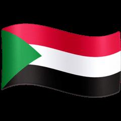Bandiera del Sudan Emoji Facebook
