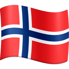 Flag: Svalbard & Jan Mayen Emoji on Facebook