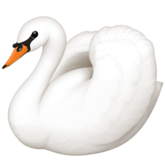 Swan Emoji on Facebook