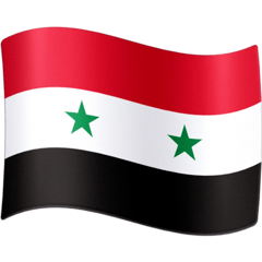 Flag: Syria Emoji on Facebook
