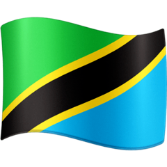 Flag: Tanzania Emoji on Facebook