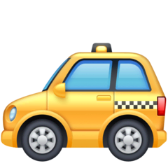 Taxi Emoji on Facebook