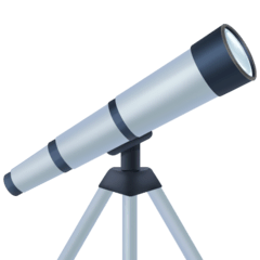 Telescope Emoji on Facebook