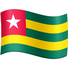 Flag: Togo Emoji on Facebook