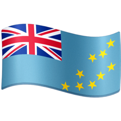 Flag: Tuvalu Emoji on Facebook