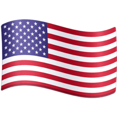Flag: United States Emoji on Facebook