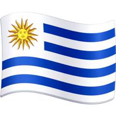 Flag: Uruguay Emoji on Facebook