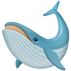 Whale Emoji on Facebook