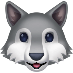 Wolf Emoji on Facebook