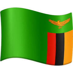 Flag: Zambia Emoji on Facebook