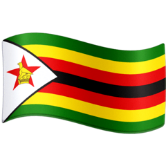 Flag: Zimbabwe Emoji on Facebook