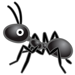 Ant Emoji on Google Android and Chromebooks