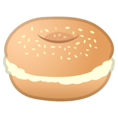 Bagel Emoji on Google Android and Chromebooks