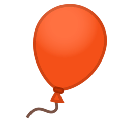 Balloon Emoji on Google Android and Chromebooks