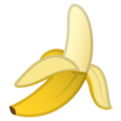 Banana Emoji on Google Android and Chromebooks