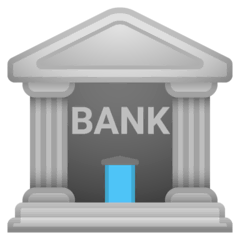 Bank Emoji on Google Android and Chromebooks