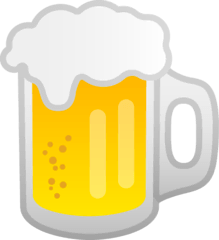 Beer Mug Emoji on Google Android and Chromebooks