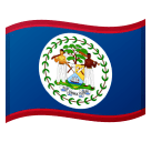 Flag: Belize Emoji on Google Android and Chromebooks