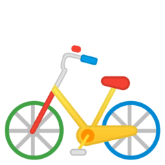 Bicycle Emoji on Google Android and Chromebooks