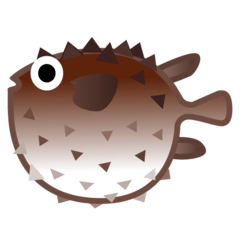 Blowfish Emoji on Google Android and Chromebooks