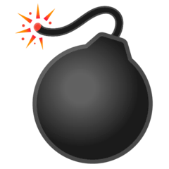 Bomb Emoji on Google Android and Chromebooks