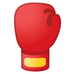 Boxing Glove Emoji on Google Android and Chromebooks